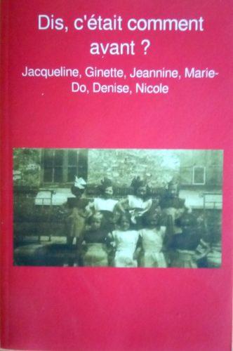 livre réalisé avec l'outil Ravive en ateliers d'écriture